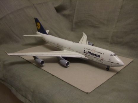 Boeing 747-400 Lufthansa by the4ce