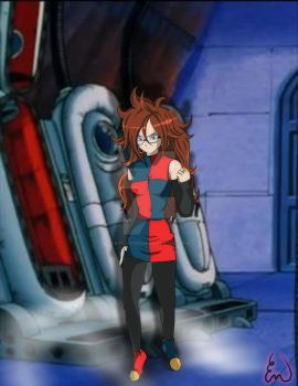 commission Android 21 by ultimateEman
