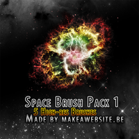 Space Brush Pack1 by Rizl4