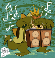 Rapping Koopa wants all your cash! by EeyorbStudios