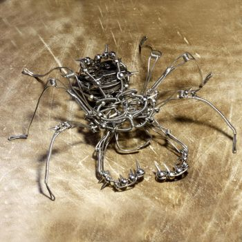 Steampunk Whip Scorpion by CatherinetteRings