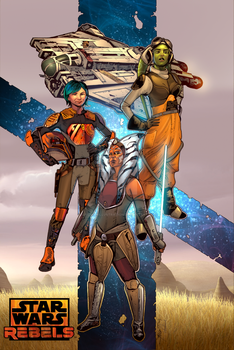 The Women of Star Wars Rebels by sullivanillustration