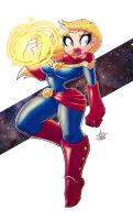 Captain Marvel by Oigresd