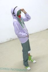 Blizt cosplay as Kido by Bilztwing