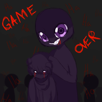 AoOni - Game Over by Ruhianna
