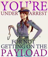 You're Under Arrest by MilaTheMute