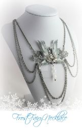 Frost Fairy Necklace - Renee Design by glittrrgrrl