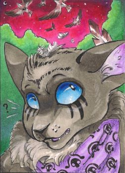 ACEO for JennifeR DRAGON by TiamatART