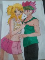 Lucy and Natsu Fairy Tail  Bad boy ^-^ by Lucy-chan90