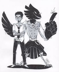 Peter and Solomon by ToxicToothpick