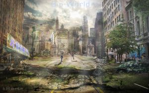 Bio World / Ruined City by K8ArtStudio