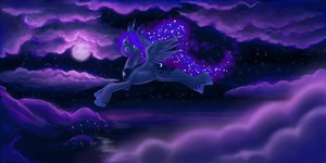 MLP: Princess of the Night by BellaCielo