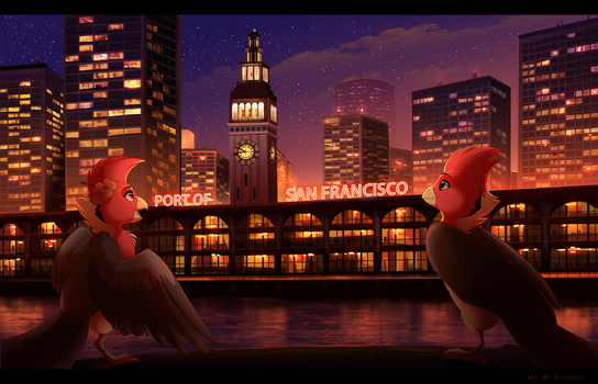 Approaching Lights by Kitchiki