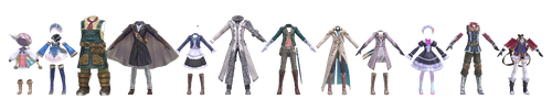 Atelier Clothes Pack 3 DOWNLOAD by Reseliee