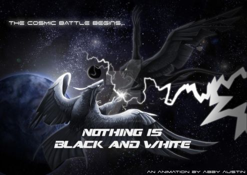 Nothing is black and white by lupinemoonfeather