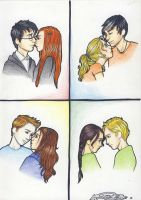 The Book Couples by miriamartist