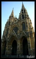 Paris Sainte Clotilde_ by DeFutura