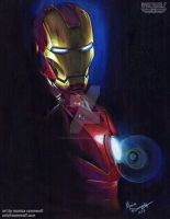 INVINCIBLE! - Iron Man by The-Art-of-Ravenwolf