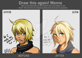 Meme: Before And After - Emil by Silver-Solace