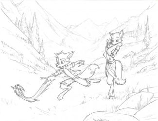 Valley Run by Dreamkeepers