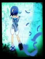 Blue Haired Girl::.. by Misora-san