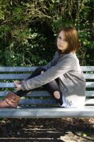 Park Bench by gavalexis-on-fire