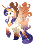 Queen Galaxia, mother of celestia and luna by auveiss