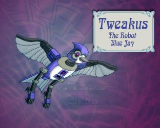 Tweakus, Capt Blackberry Beard's Robot BlueJay by Stnk13