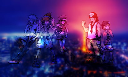 The World Ends With You - Wallpaper by HaakonHawk