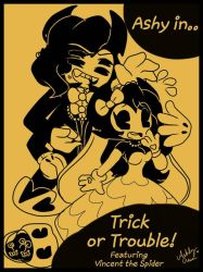 Trick or Trouble!  by cutelittlepikakitty