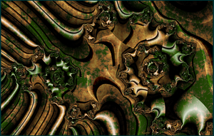 2016 is a rusty fractal by ivankorsario