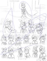 A!/Frozen AU [Sketch dump 4] - Coronation party 1 by SonicandShadowfan15