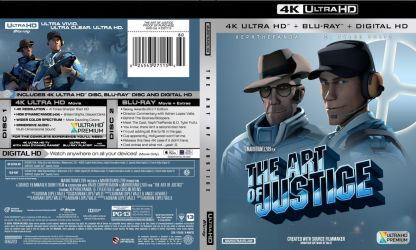 The Art of Justice - 4K Ultra-HD Cover Case by MarioT209