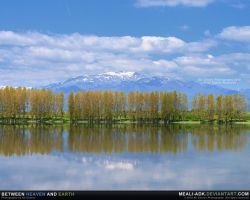Between heaven and earth by MeAli-ADK