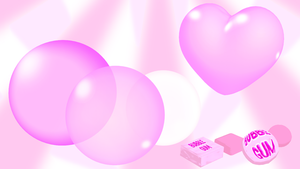Chewing gum and bubbles MMD models (inflatable) by imbapovi