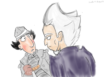 Inspector Gadget: First meeting. by superslothpants