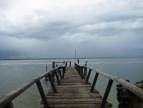 Dock Out Into The Sea by vlogtatiana