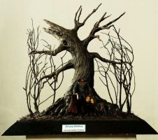 Diorama Sleepy Hollow by carvingnations