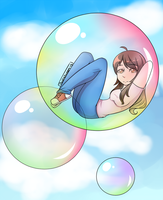 Floating idly by by PockyQueen132