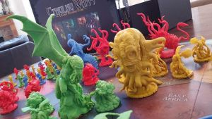 Cthulhu and co. by snuurg