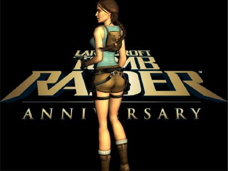 Tomb Raider Anniversary by SexyClaire