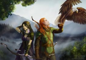 Guardians of the Eternal Forest (updated) by P-JoArt