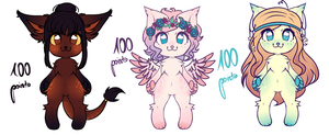 32. Adopts - 100 points (closed) by Satina56