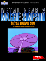 Metal Gear 2 - Maggie Simpson by Gazmanafc