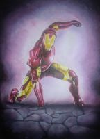 Iron Man by IzEllie