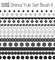 Brush Set II by Shiina-Yuki