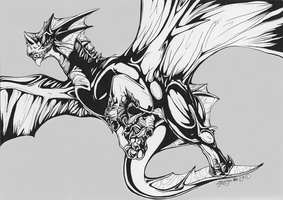 Dragon tattoo idea by lycangel