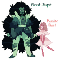 Forest Jasper And Rosaline Pearl by gigifeh