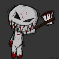 Voodoo With An Axe by Gothika47