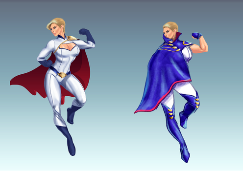 Power Girl Redesign by jadenwithwings